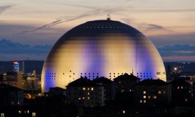 A Globe Arena de Estocolmo será a sede do Eurovision 2016