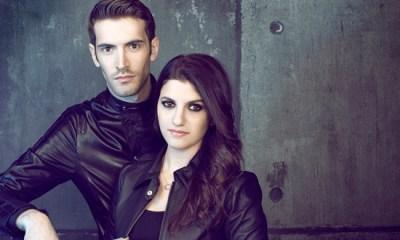 Giovanni Caccamo e Deborah Iurato se apresentarão para o Papa Francisco