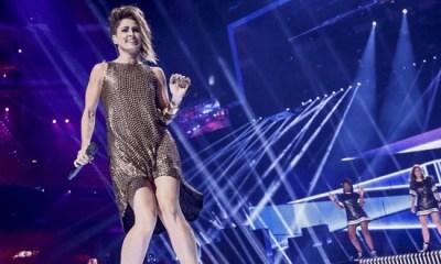 Barei sobe ao palco do Eurovision para seu segundo ensaio