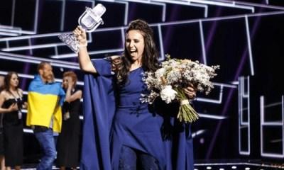 Com a veterana Jamala, Ucrânia vence o Eurovision 2016