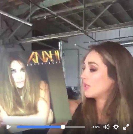 Anahi mostra capa de novo disco