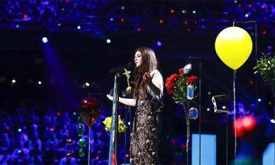 Francesca Michielin na final do Eurovision Song Contest 2016, em Estocolmo: cantora acabou fora do top ten