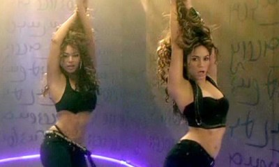 Com Beyoncé, Shakira gravou o hit Beautiful Liar