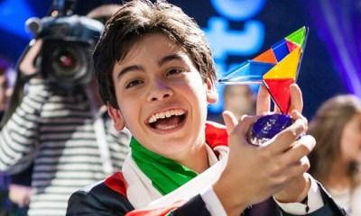 O italiano Vincenzo Cantiello venceu o Junior Eurovision 2014.