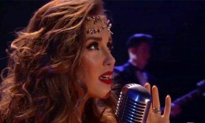 Anahi fez a primeira performance ao vivo de Amnesia nos Prêmios Juventud