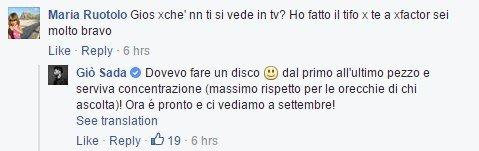 Facebook Gio Sada