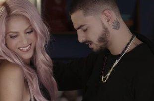 Shakira e Maluma comemoram 200 milhões de views no clipe de Chantaje