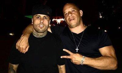 Vin Diesel ajudou a apresentar Without You 752b54aeef460