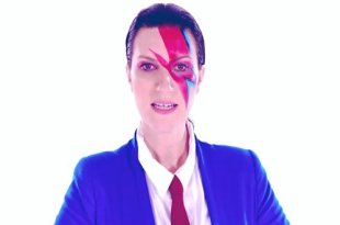 Laura Pausini homenageia David Bowie no videoclipe de Colpevole