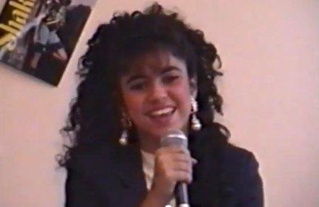 Shakira aos 13 anos