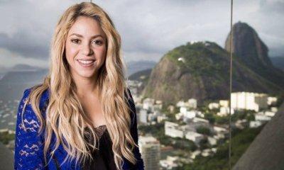 Shakira no Cristo Rendentor