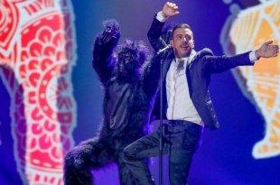 Francesco Gabbani segundo ensaio Eurovision 2017