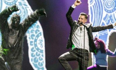 Primeiro ensaio Itália Eurovision 2017 Francesco Gabbani