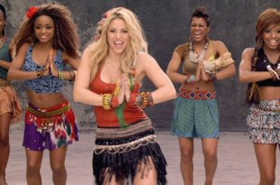 Waka Waka é o clipe mais visto da Shakira