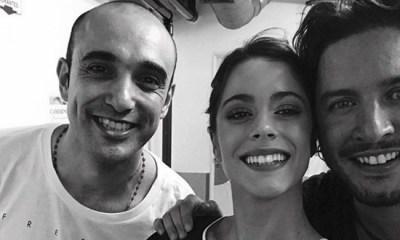 Tini Stoessel e Abel Pintos cantaram com Manuel Carrasco na Argentina