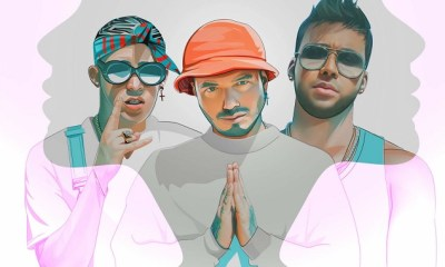 Bad Bunny, J Balvin e Prince Royce cantam Sensualidad