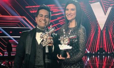 Laura Pausini venceu o La Voz México com Luis Adrián