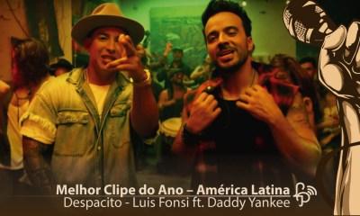Melhor clipe do ano America Latina - Despacito