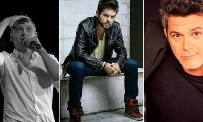 Tiziano Ferro, Pablo López e Alejandro Sanz estão devendo uma visita aos fãs brasileiros