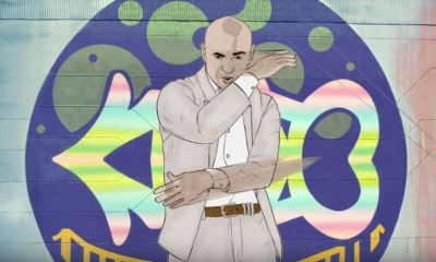 Pitbull canta música-tema de Aquaman