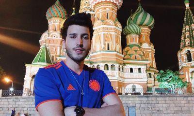 Sebastián Yatra está aproveitando a Copa do Mundo da Rússia