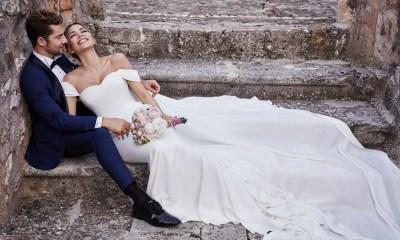 David Bisbal se casou com a modelo venezuelana Rosanna Zanetti