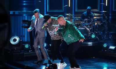 Nicky Jam e J Balvin invadem talk show de Jimmy Fallon