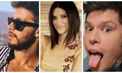 Ruggero Pasquarelli, Laura Pausini e Fedez dominam social italiano