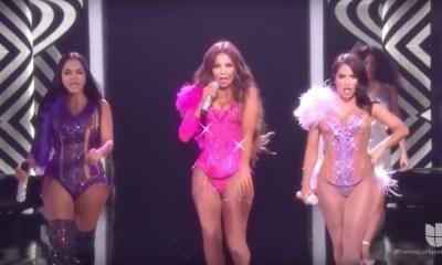 Lali, Thalia e Natti Natasha arrasaram na abertura do Premio Lo Nuestro 2019