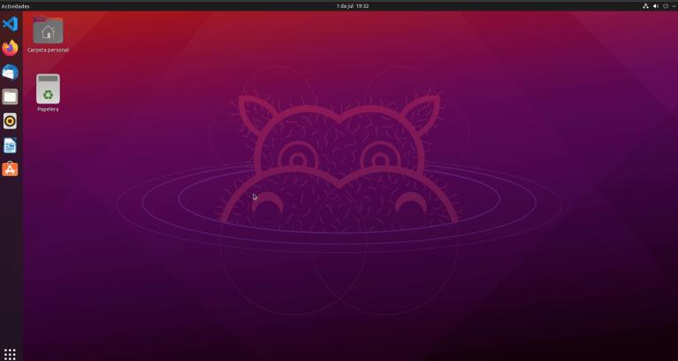 ubuntu 21.04 en vmware