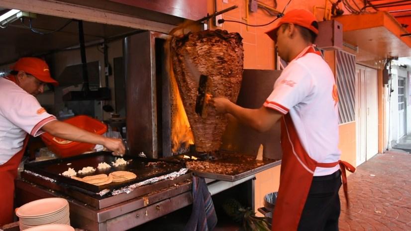 Conexão no México: taco al pastor
