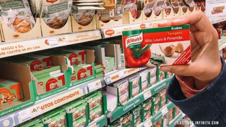 Preços do caldo Knorr no Mercado em Portugal