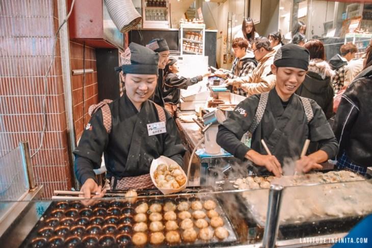 Afinal a comida de Osaka é tão boa assim? Te mostramos um pouco sobre.