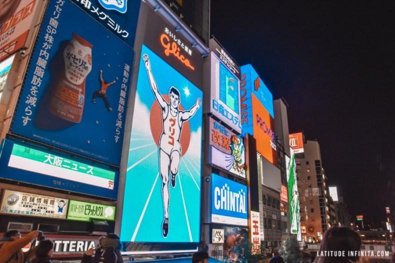 O que fazer em Osaka, não seria completo se não tivesse Dotonbori, não é mesmo?