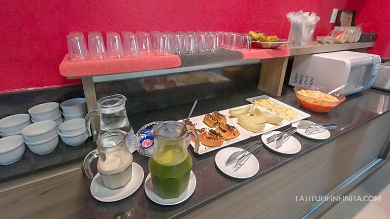 café da manhã tri hotel smart
