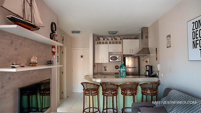 cozinha airbnb Florianópolis