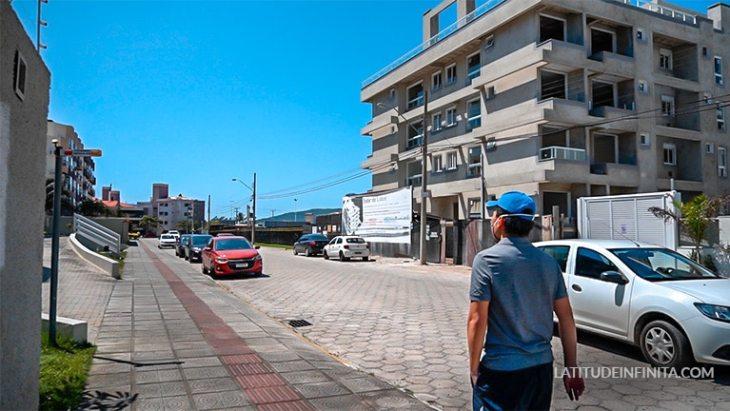 rua brisamar Florianópolis