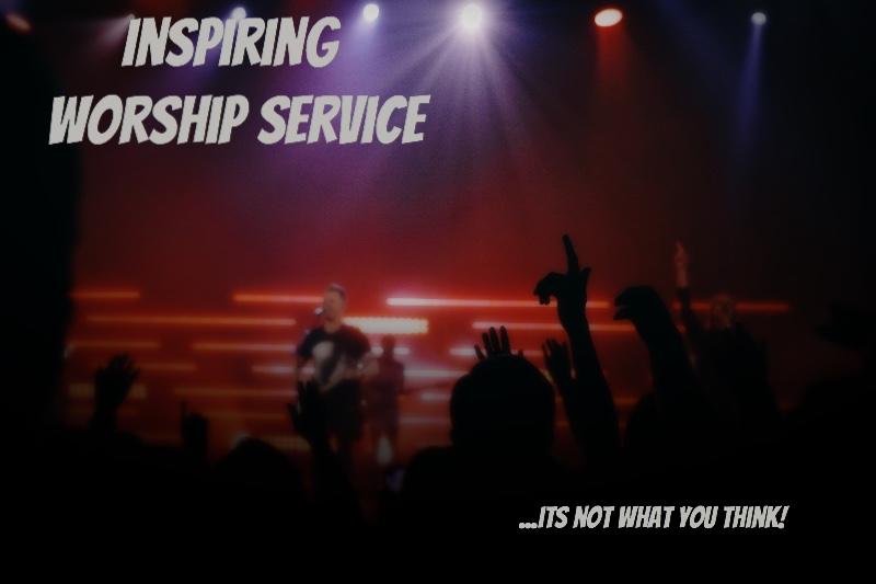 Inspiring Worship Service