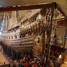 sotto la poppa del Vasa