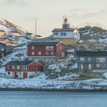 Honninsvag inverno Norvegia