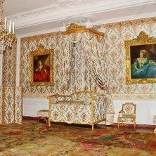 camera da letto della regina