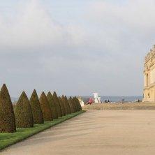 terrazzo che dà l'accesso ai giardini