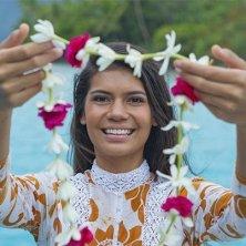 corona di tiarè lei tahitiana