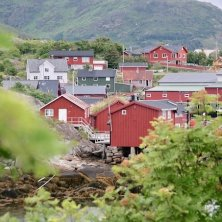 villaggio isole Lofoten