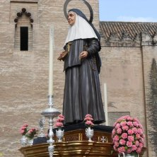 in processione a Siviglia