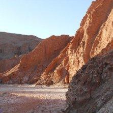 Cile Atacama montagne rosse