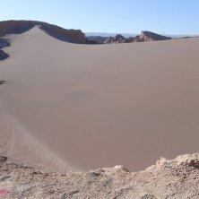 dune di sabbia rossa