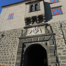 portale d'ingresso al castello Riegersburg
