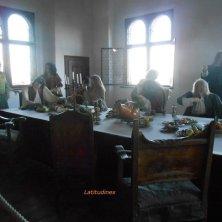 riproduzione cena al castello Riegersburg