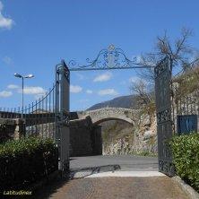 enntrata monastero Santa Scolastica